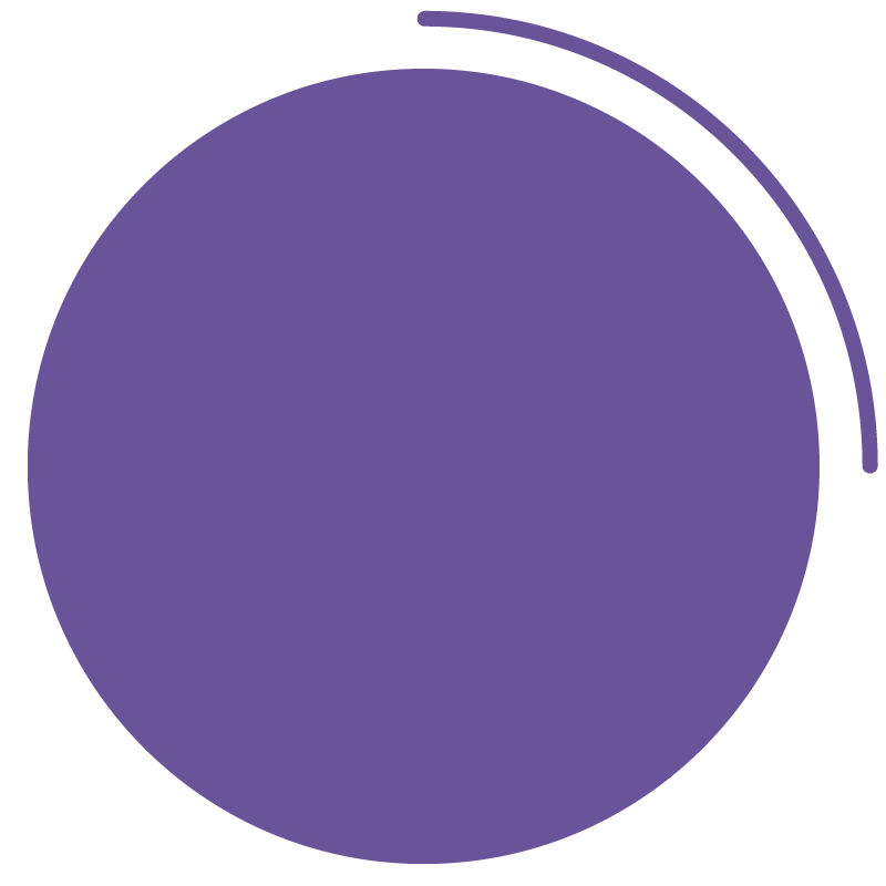 Purple Circle Graphic